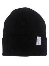 TopHeadwear Black Cuffed Beanie