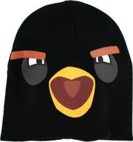 Angry Birds Black Bird Big Face Knit Cap