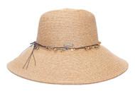 Womens Paper Braid Sun Hat