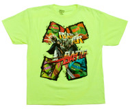 TMNT Ready for Battle Neon Green T-Shirts