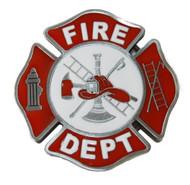 Fire Department Logo Belt Buckle