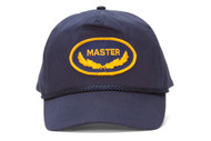 Master Embroidery Navy Adjustable Military Cap