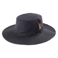WAXED COTTON CANVAS MEN'S WESTERN STYLE HAT