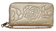Womens Floral Clutch Wallet