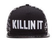 KILLIN IT Emoticon Polished Bill Snapback