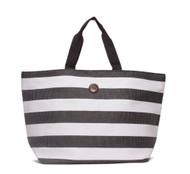 Capelli Straworld Toyo Striped Tote Bag