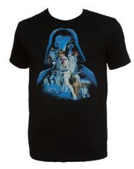 Star Wars Darth Vader Silhouette Mens Short-Sleeve T-Shirt