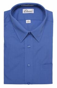Classic Mens Dress Shirt Long-Sleeve Button Up Shirt