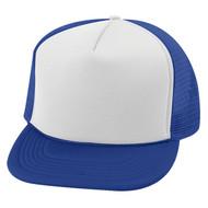 Vintage 2 Tone Foam Trucker Hat Cap , Royal