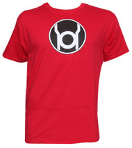 Officially Licensed DC Comics Red Lantern Symbol T-Shirt
