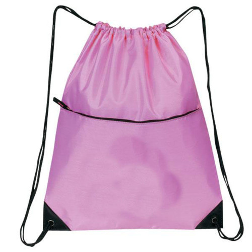 All-Purpose Drawstring Tote II, PINK