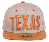 TopHeadwaer Texas City Snapback w/ Floral Flat Bill
