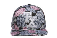 Floral Print City Cap Snapbacks (Various)
