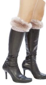 Womens Winter Leg Warmers w/ Lace