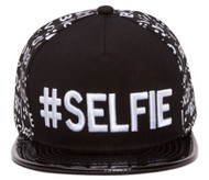 #SELFIE Emoticon Polished Bill Snapback