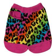 Toddler Socks Rainbow Leopard