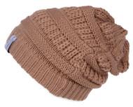 Crochet Knit Weave Beanie ( 2 PACK )