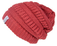 Crochet Knit Weave Beanie ( 2 PACK )