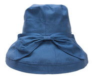 TopHeadwear Womens Crusher Sun Hat w. Ribbon Bow