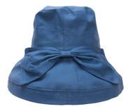 TopHeadwear Womens Crusher Sun Hat w. Ribbon Bow