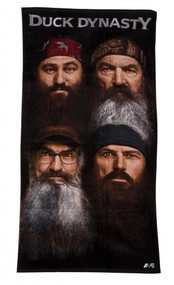 Duck Dynasty Beards Beach Towel