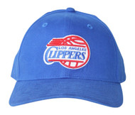 New Era LA Clippers Script Hook & Loop Adjustable Hat Blue