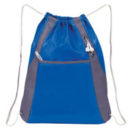 'Elite'' Drawstring Pack - Royal