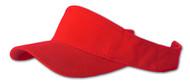 Sportsman - Sandwich Visor, Red