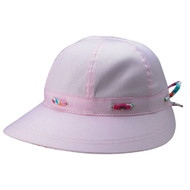LADIES' BRUSHED TWILL HAT