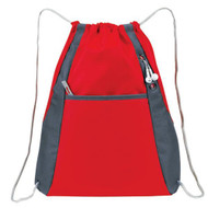 'Elite'' Drawstring Pack - Red