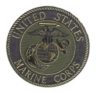 United States Marine Corps Seal Olive Patch