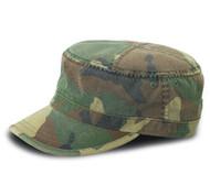 MG Unisex Enzyme Washed Camouflage Cap-9028