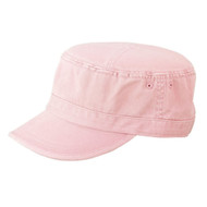 CAMO TWILL WASHED ARMY CAP - Pink