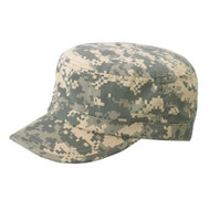 CAMO TWILL WASHED ARMY CAP - Digital