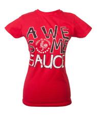 Sriracha Awesome Sauce Juniors Licensed T-shirt