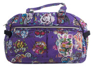 Clover Cute and Handy Purse - Purple Hard Style Tattoo