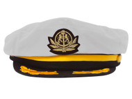 Adjustable Captain Hat-White Flagship