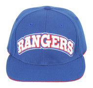 American Needle NHL New York Rangers Snapback Hat Cap - Royal Blue