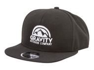 Gravity Outdoor Co. Structured Flatbill Snapback Hat