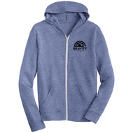 Gravity Outdoor Co. Eco-Jersey Zip Hoodie