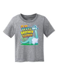 Toddlers I'm the Big Brothersaurus Short-Sleeve T-Shirt