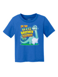 Toddlers I'm the Big Brothersaurus Short-Sleeve T-Shirt
