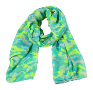 Gravity Threads Neon Camouflage Scarf