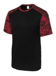 Gravity Threads CamoHex Athletic T-Shirt