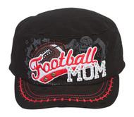TopHeadwear Football Mom Distressed Adjustable Cadet Cap