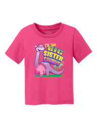 Toddlers I'm the Big Sistersaurus Short-Sleeve T-Shirt