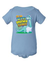 Infant I'm the Big Brothersaurus Bodysuit
