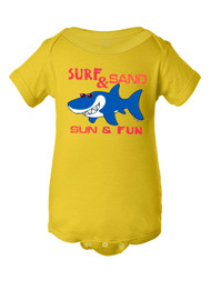 Infant Surf & Sand Sun & Fun Bodysuit