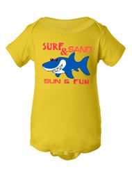 Infant Surf & Sand Sun & Fun Bodysuit
