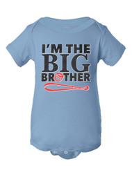 Infants I'm the Big Brother Baseball Bodysuit